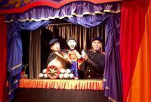 Cia Circo de Bonecos / Cia brasileira de teatro de bonecos e objetos. Teatro para toda família.