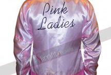Michelle Pfeiffer Grease 2 Pink Ladies Reversible Jacket / 2 in 1 Pink Ladies Satin Reversible Jacket from Movie Grease 2 available now at Slimfit Jackets online store.