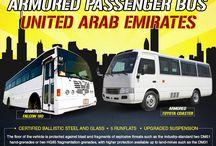 Armored or Bulletproof Bus UNITED ARAB EMIRATES