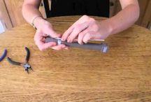 Tuto bijoux en fil alu / Tutoriels pour faire des bijoux en fil d'aluminium