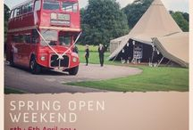 Spring Open Weekend 2014 / Come and take a peek at our #magnificent & #unique #tipis at our Spring Open Weekend on 5th & 6th April in the #peakdistrict at Darley Moor Airfield (Ashbourne Derbyshire DE6 2DS)   #tipiwedding #teepeewedding #summerwedding #outdoorwedding