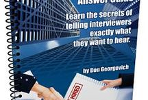 Job Interview Tools / Get an Unfair Advantage and