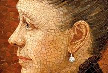 mosaic portraits