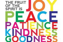 Fruits of the Spirit / This board is dedicated to our current series the Fruits of the Spirit.