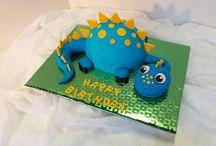Dinosaur cake Bens 3rd birthday