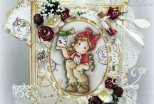 Love Magnolia Stamps / Liebe diese kleinen Firgren von Magnolia