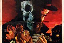 Zé do Caixão / Coffin Joe / Painel para homenagear o maior ícone do terror no Brasil: José Mojica Marins e seu personagem Zé do Caixão.