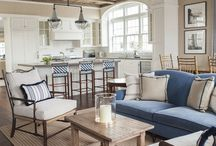 Interior Design Inspiration / Nautical inspiration for every room in your house.