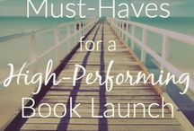 Huge Book Launch Ideas / How to launch a book