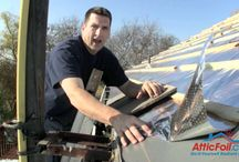 Radiant Barrier Roofing - Under Metal & Tile Roofs / If you are installing any type of roof that has an air space (either built in by the shape of the tiles or because of a batten system), then you should most definitely install a radiant barrier!