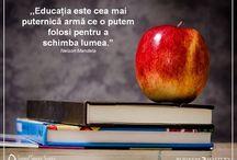 EDUCATIE / EDUCATIA ESTE CHEIA VIITORULUI