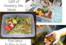 Sensory Activities / by Tracey Smeby-Rempel