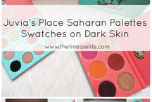 Makeup for Women of Color / Makeup products for women of color and makeup swatches on dark skin