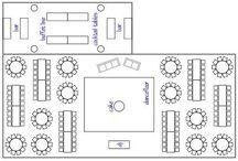 Reception setting design