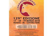 Lombardia Carne: la fiera dedicata agli animali da carne 17-18-19 Marzo Rovato (BG)