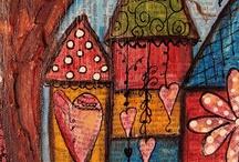 Houses arty