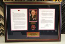 Military Custom Frames / Special items need special care. We frame your military honors using preservation materials that will help preserve and protect them for generations to come.