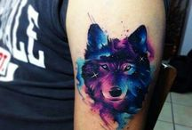 Watercolor&Abstract Tattoos