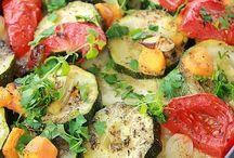 Grill warzywa