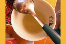 Apple cider vinegar / Site throat