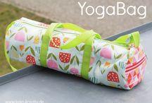 Yogatasche / YogaBag / Fotos von Yogataschen, genäht nach dem Ebook YogaBag von Keko-Kreativ
