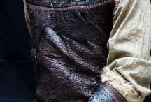 indumentaria de vikingos