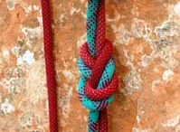 Knots / If you don't know knots - tie lots! Or... Just learn some!