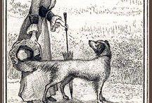Exlibris / Bookplates - dogs