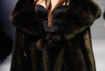 sable&mink fur coat