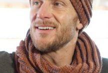 Mütze und Schal Männer