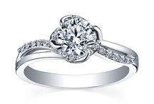 Floral Inspired Engagement rings / Floral inspired engagement rings
