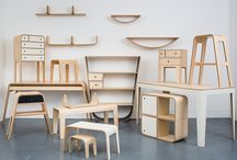 MDF Furniture curved