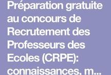 concours prof