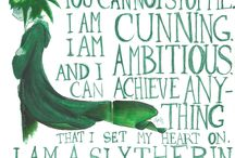 SLYTHERIN PRIDE / Just because I am in Slytherin does not mean I am a terrible person