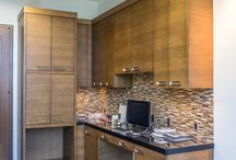 Office Space Cabinetry / Creative Woodworks Inc