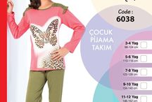 Winter Collection Girls 2015/16 / Kız ev giyim ürünleri