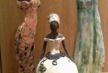céramique statue