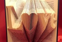 Folded book / Old books