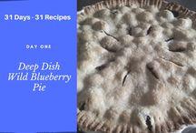 31 Recipes - PEI Blueberry