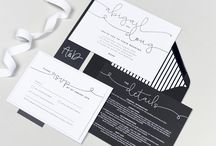 Design suite // Kate wedding stationery collection