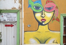 Graffiti and Street Art in Valparaiso, Chile / by Jameson Fink