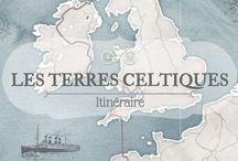 Voyage à vélo / Retrouvez ici mon projet de voyage à vélo à travers les Terres Celtiques et mes inspirations !