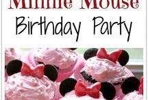 Ideas for Olivia's birthdays