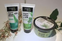 Pictures of organic cosmetics from my blog