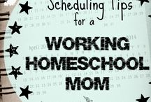 Working and Homeschooling / tips for working homeschool moms, places to work as homeschool mom, balancing working and homeschooling