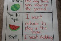 Second grade - writing