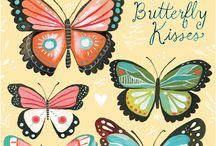 Kelebek Butterfly