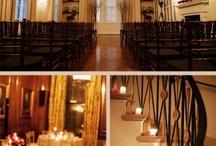 Wedding Decor at the Harold Pratt House