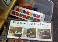 independent tasks/work boxes