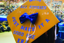 Creative graduation caps / Over the years, our graduates have created some really wonderful mortarboard designs. Check them out. If you have one, feel free to share it with us on Twitter or Instagram by using #WVUgrad.  / by WVU - West Virginia University